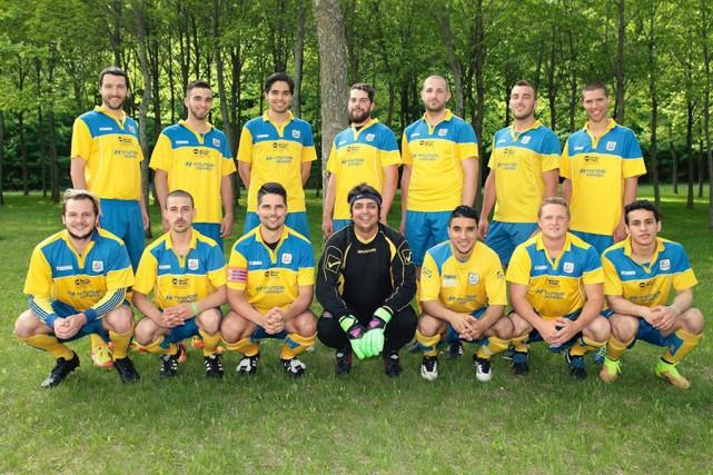 LesCosmos senior AA évoluant en deuxième division se... (Tirée de Facebook)