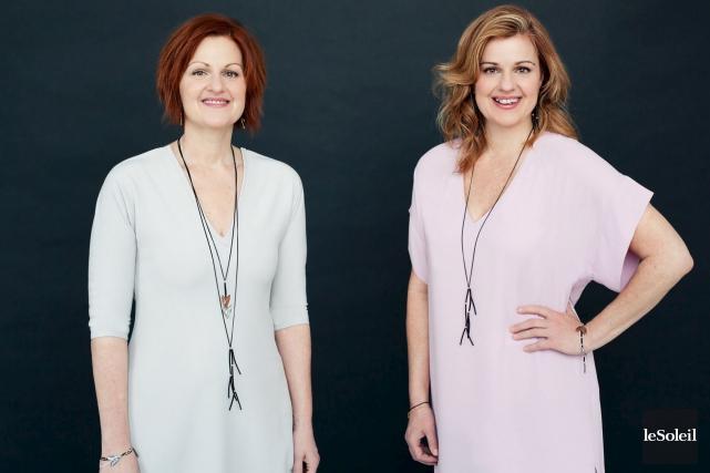 Les soeurs Nathalie et Sylvie Moreau... (Photothèque Le Soleil)