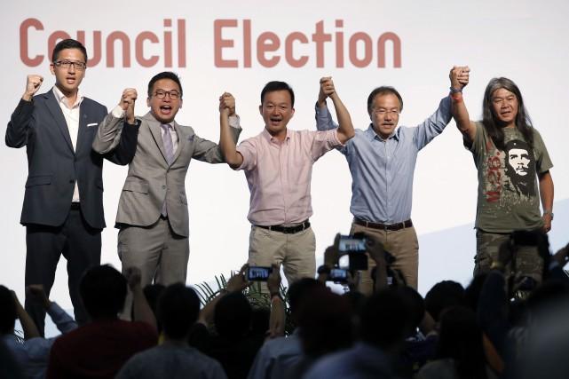 Pour la première fois, cinq candidats prônant l'indépendance... (AP)