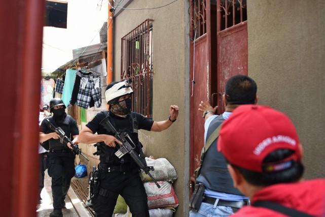 «Le nombre d'exécutions extrajudiciaires a été littéralement décuplé... (photo AFP)