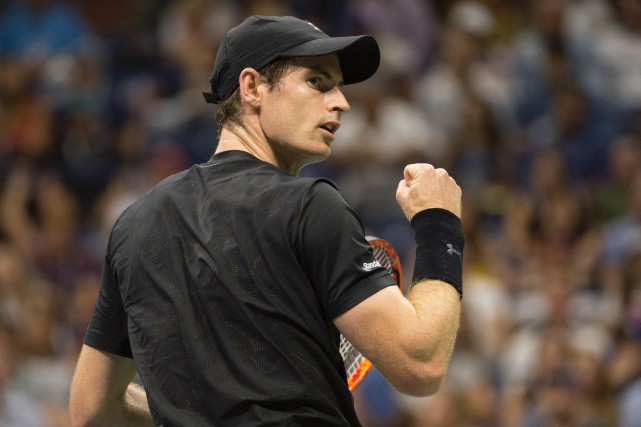 Andy Murray... (Photo Don Emmert, AFP)