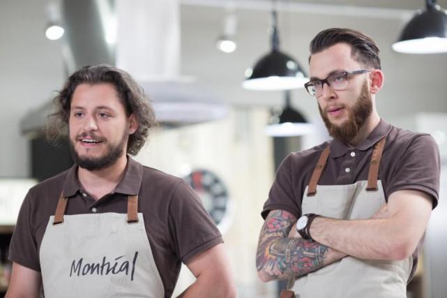 Walter Roy etSimon Laborde, de Montréal, sont les... (photo fournie par ici radio-canada télé)