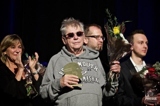 En acceptant son prix, André Forcier a livré... (PHOTO ANDRÉ PICHETTE, LA PRESSE)