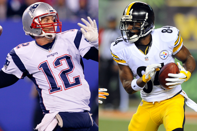 Tom Brady, des Patriots de la Nouvelle-Angleterre, et... (Photos AP et USA Today)
