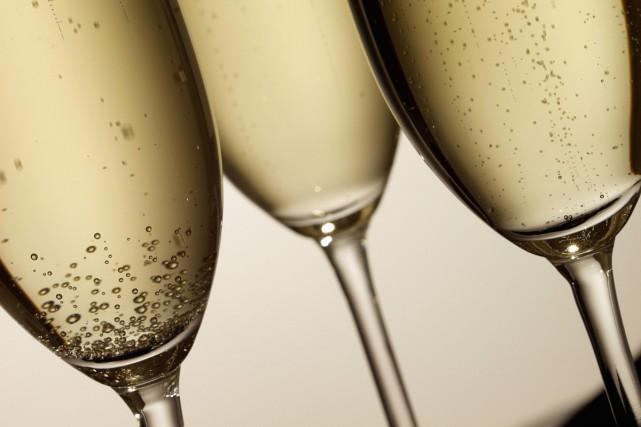 La récolte de raisin en Champagne s'annonce en forte baisse en raison des... (PHOTO THINKSTOCK)