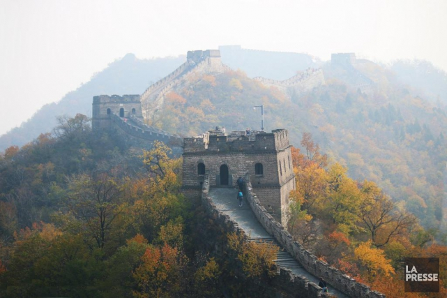 La Grande Muraille de Chine est classée au... (PHOTO SYLVAIN SARRAZIN, LA PRESSE)