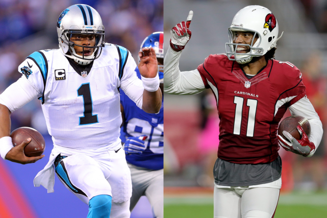 Cam Newton, des Panthers de la Caroline, et... (Photos USA Today et AP)