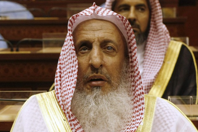 Le grand mufti d'Arabie saoudite, cheikh Abdel Aziz ben... (photo Hassan Ammar, archives AP)