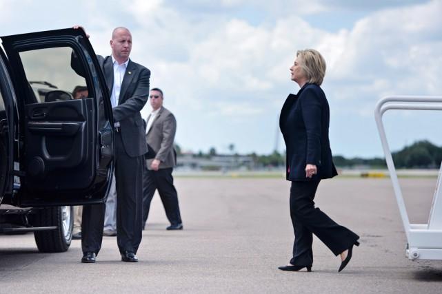 Hillary Clinton estime que le piratage informatique qui... (photo Brendan Smialowski, AFP)