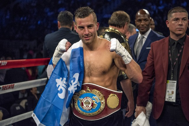 David Lemieux affrontera l'Argentin Cristian Fabian Rios le 22 octobre... (Photo Joshua Dahl, archives USA Today Sports)