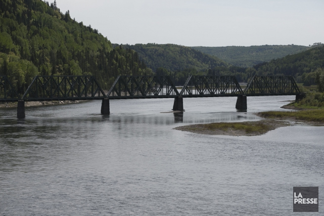 La riviere Ristigouche... (Photo François Roy, archives La Presse)
