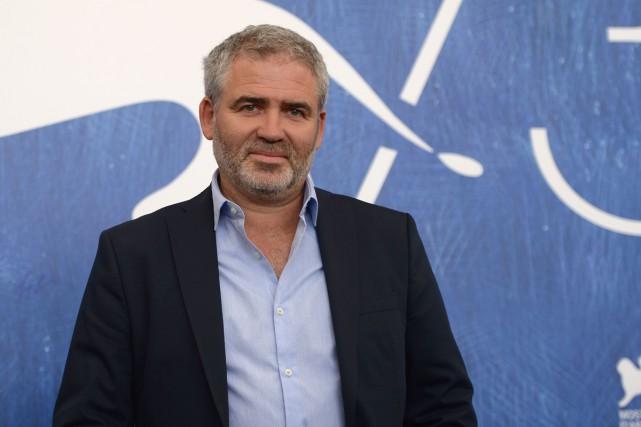 Le cinéaste français Stéphane Brizé a présenté Une... (PHOTO AFP)