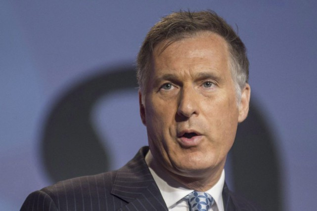 Maxime Bernier... (Photo Eduardo Lima, archives La Presse Canadienne)