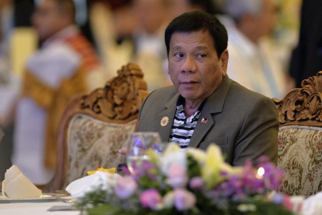 Par le passé, le président des Philippines, Rodrigo... (AFP, Ye Aung Thu)