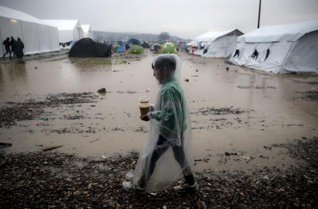 En 2015, environ 45% des enfants réfugiés placés... (PHOTO ARCHIVES AP)