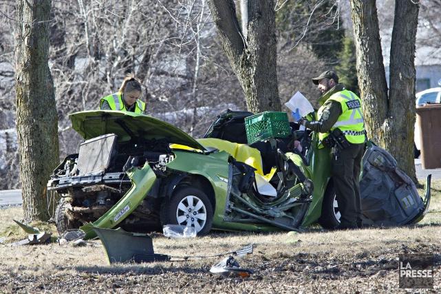Il y a aujourd'hui six fois moins d'accidents mortels sur les routes du Québec... (Archives La Presse)