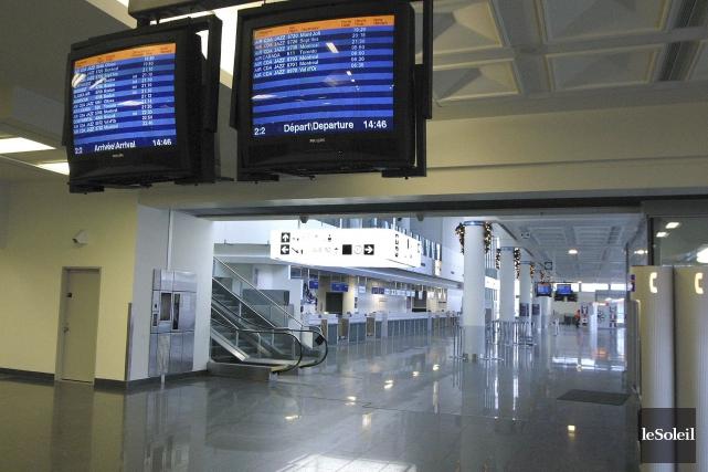 L'actuel terminal international, au début des années 2000... (Photothèque Le Soleil)