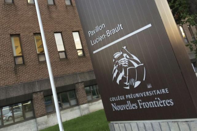Les locaux du collège Nouvelles Frontières, secteur collégial,... (Etienne Ranger, Archives LeDroit)