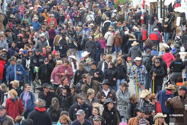 La consommation d'alcool au Festival western de Saint-Tite... (Sylvain Mayer, Le Nouvelliste)