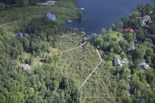Les deux structures, longues de 56 et de... (fournie par Renaissance lac Brome)