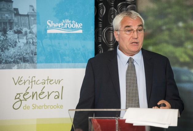 Le vérificateur général de la Ville de Sherbrooke,... (Spectre Média, Frédéric Côté)