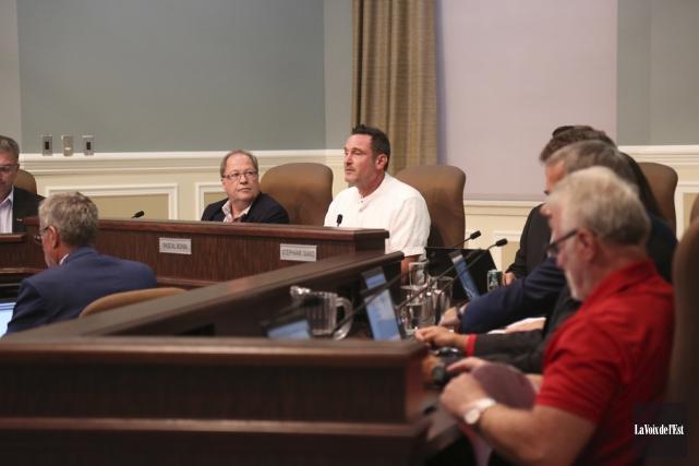 Le conseil municipal de Granby a accepté mardi... (Julie Catudal, La Voix de l'Est)
