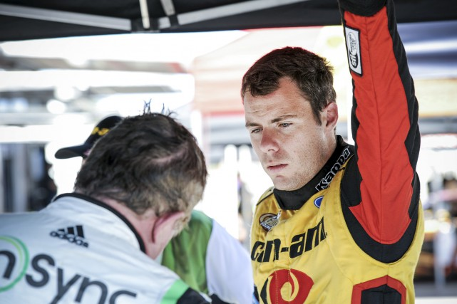 Alex Labbé coursera en série Xfinity la saison... (Photo fournie)