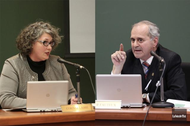 Les relations entre la conseillère Corinne Labbé et... (Archives La Voix de l'Est)