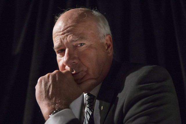 Peter Mansbridge, chef d'antenne de l'émission The National... (Archives PC)
