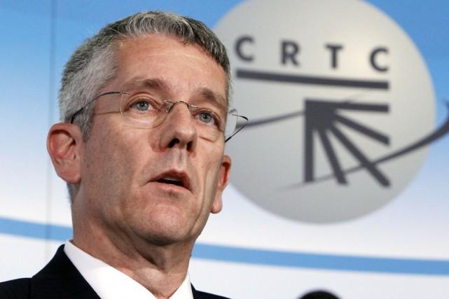 Le président du CRTC, Jean-Pierre Blais... (Archives PC)