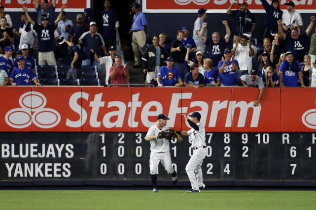 Brett Gardner et Jacoby Ellsbury... (Photo Adam Hunger, Associated Press)
