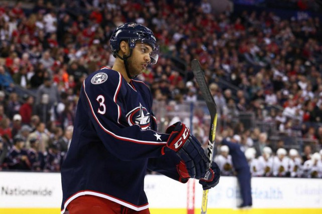 Seth Jones a joué pendant plus de deux saisons... (Photo Aaron Doster, archives USA TODAY Sports)