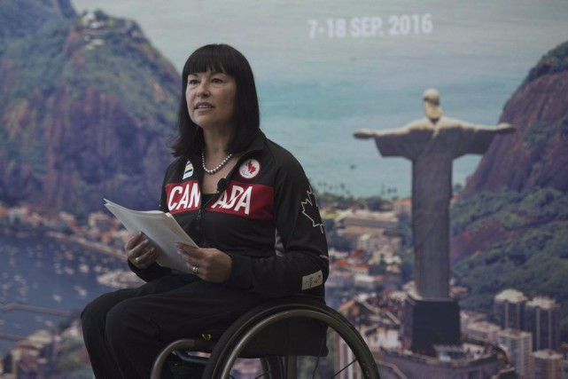 Chantal Petitclerc... (Photo Adrian Wyld, archives La Presse Canadienne)