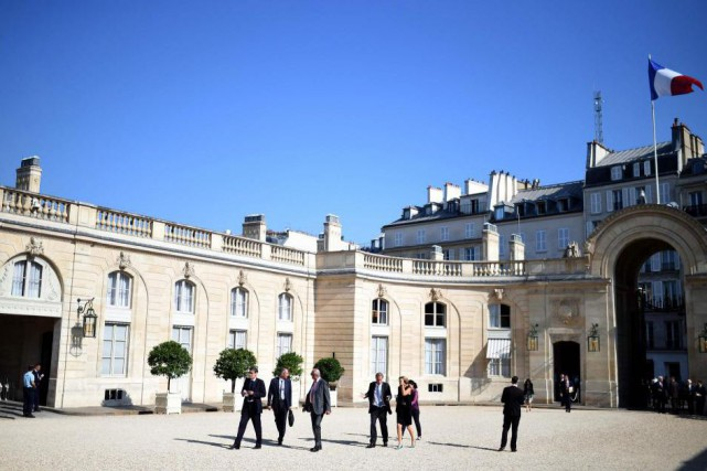 Le palais de l'Élysée... (Photo archives Agence France-Presse)