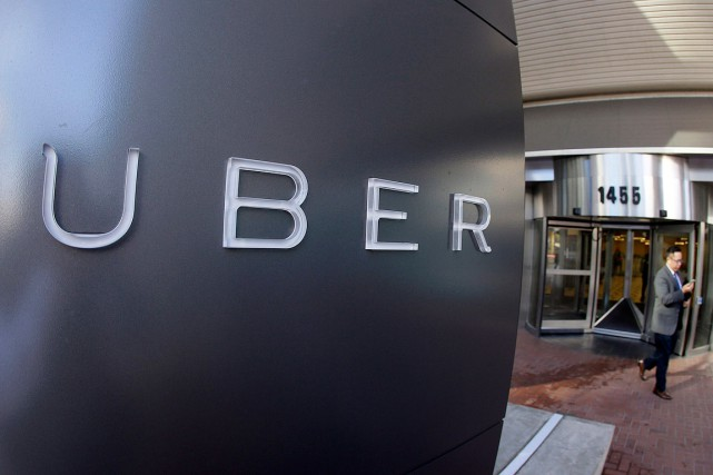 Le quartier général de Uber, à San Francisco.... (Photo Eric Risberg, archives AP)