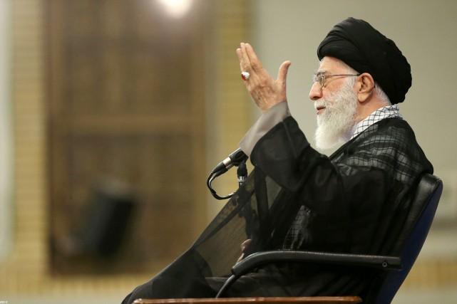 La dernière attaque en date est venue mercredi... (photo site web du guide suprême iranien/AFP)