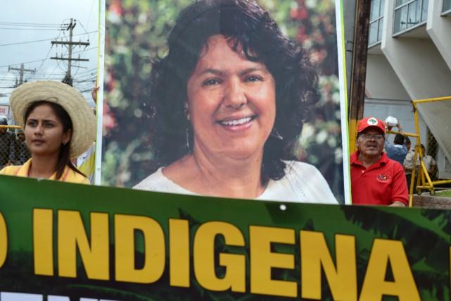 Au Honduras, l'experte des Nations unies Victoria Tauli-Corpuza... (photo ORLANDO SIERRA, archives AFP)