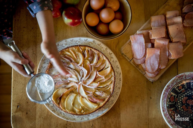 Le principe est simple:vous allez aux pommes le... (PHOTO MARCO CAMPANOZZI, LA PRESSE)