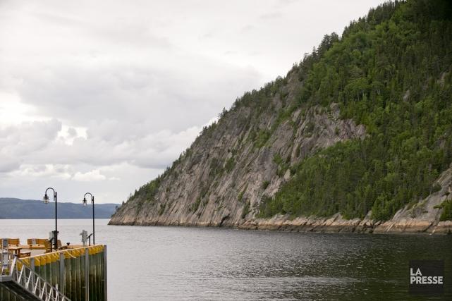 Une vue du fjord du Saguenayà partir de... (Photo David Boily, archives La Presse)
