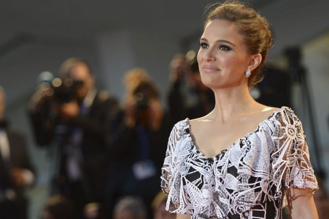 Natalie Portman à la première du film Jackie.... (PHOTO AFP)