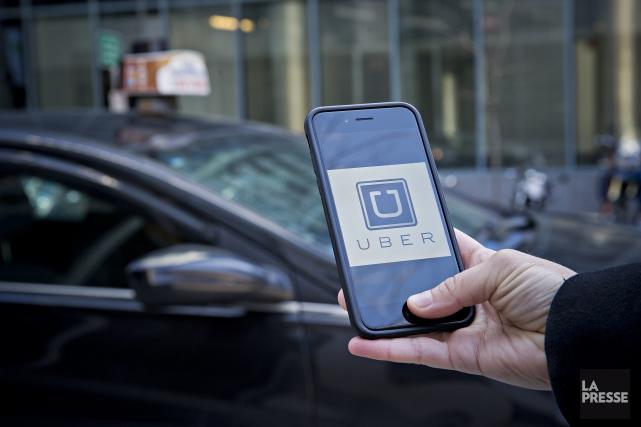 Ultime pierre d'achoppement entre Uber et le gouvernement Couillard:... (Photo Patrick Sanfaçon, La Presse)