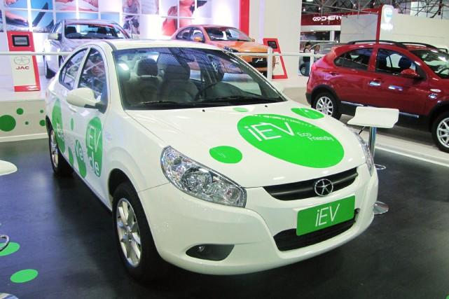 Jianghuai Automobile (JAC) produit déjà cette petite électrique... (Photo : Wikipédia)