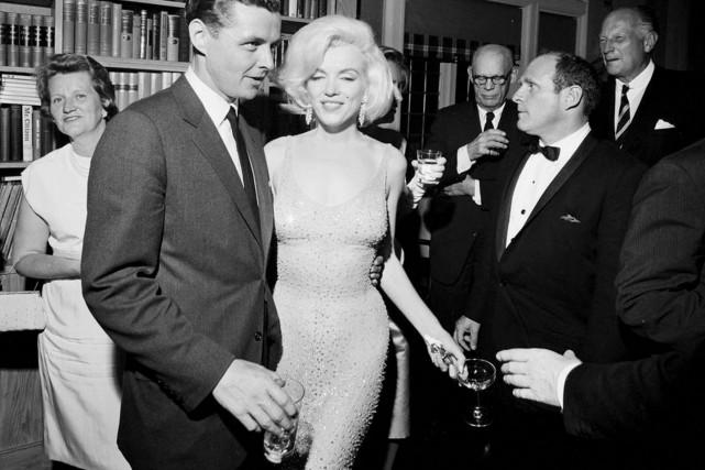 La robe créée par Jean Louis Marilyn Monroeétait... (Archives AP)