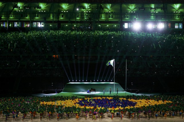La cérémonie d'ouverture a mis «l'accent sur la... (PHOTO REUTERS)