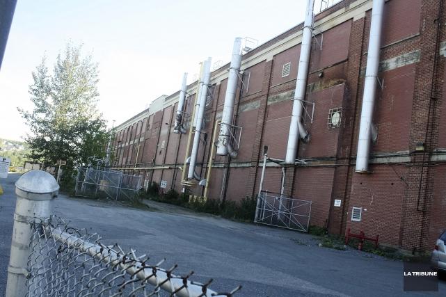 L'ancienne usine de la compagnie CS Brooks à... (La Tribune, Jean-François Gagnon)