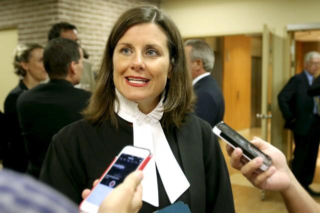 La ministre de la Justice, Stéphanie Vallée, a... (Patrick Woodbury, LeDroit)