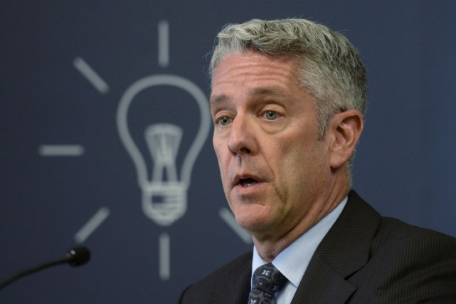 Le président du Conseil de la radiodiffusion et... (La Presse canadienne)