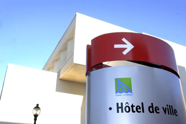 L'hôtel de ville de Trois-Rivières.... (Photo:Stephane Lessard)
