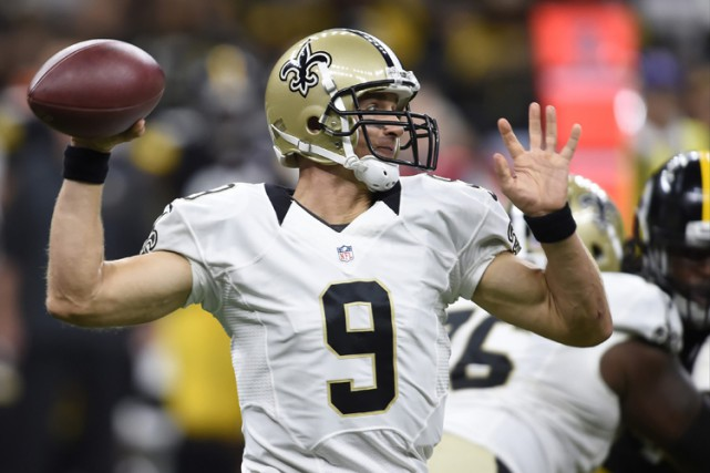 Drew Brees... (PHOTO AP)