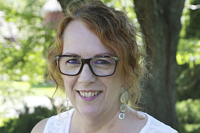 L'auteure granbyenne,Lise Blais... (Janick Marois)